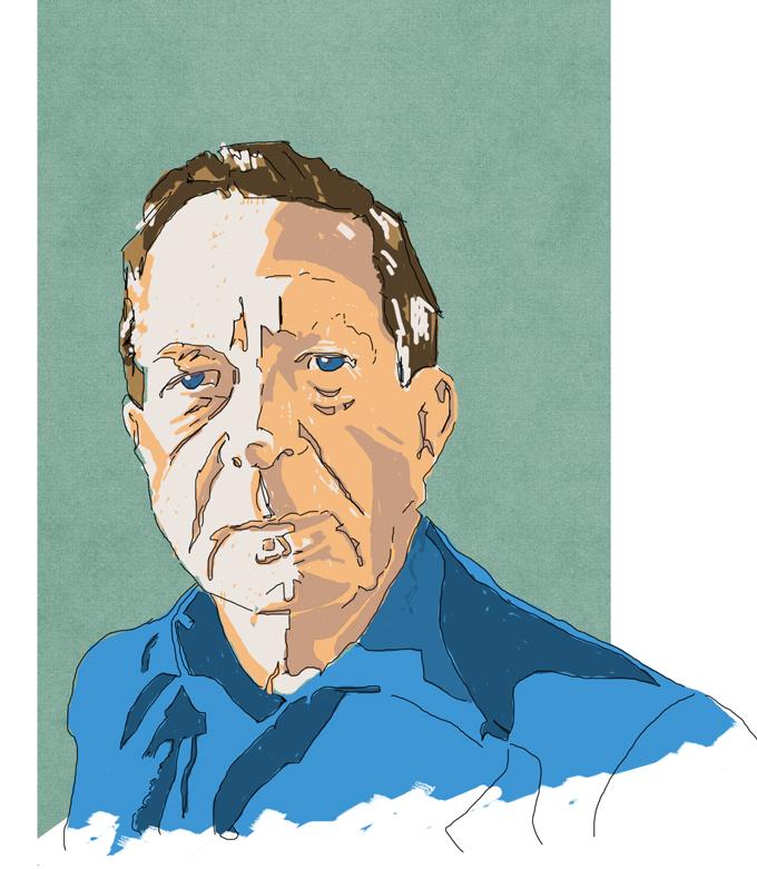 Illustrazione: ritratti digitali dei miei scrittori